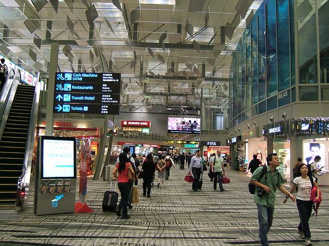 Changi Airport, T-3