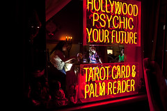 The Fortune Teller (rachelbujalski) Tags: california reading hollywood future losfeliz psychic fortuneteller whitelight crystalball tarotcard palmreader tarotcardreader