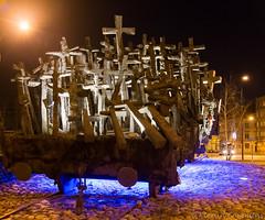 Fallen Heros (Kieran Commins) Tags: monument night high poland iso fallen warsaw heros highiso fallenheros