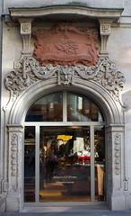 Eingangsportal des ehemaligen Hotels Weidenbusch (S. Ruehlow) Tags: hotel frankfurt eingang portal frankfurtammain innenstadt ffm steinweg gaststtte hotelweidenbusch ehemaligeshotel weidenbusch