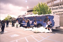 1999 Padres Bus (SDMTS) Tags: bus vintage sandiego metro anniversary 1999 transit padres historical 30th phantom gillig mts sandiegopadres sandiegotransit tonygwynn metropolitantransitsystem
