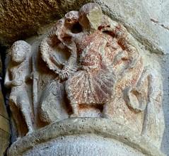 Saint-Chamant - Saint-Amant (Martin M. Miles) Tags: france capital beggar demon portal 19 corrze limousin miser saintamant earwhisperer saintchamant