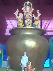 Near aloysius (bhagwathi hariharan) Tags: god lord ganesh vasai virar ganpathi nalasopara nallasopara