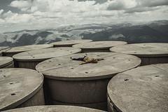 Where worlds collide (Alessio Albi) Tags: portrait man landscape amazing alien surreal location
