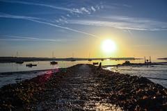Malahide Marina (robdennisdublin) Tags: morning ireland sea sky dublin colour beach marina sunrise canon boat early day malahide