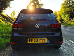 Mk6 VW Golf GTI (Marc Sayce) Tags: vw golf gti mk6 mk 6 vi volkswagen 2009 2010 2011 2012 deep black r r20 gtd rear led tail lights sunset sunburst sunbeams worldcars