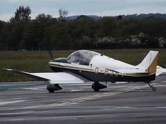 G-BJBO Jodel Capitaine (Aircaft @ Gloucestershire Airport By James) Tags: james airport gloucestershire lloyds capitaine jodel egbj gbjbo