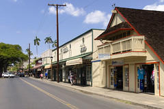 Front Street Lahaina (rschnaible) Tags: street usa building architecture photography hawaii us tour pacific outdoor sightseeing maui front tourist tropical tropics lahaina
