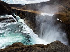 Gullfoss falls (markvall) Tags: river is waterfall iceland south gullfoss vesiputous matka joki islanti