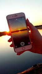 #sunset #canon #sun #photography #art #beautiful #night #phone #snapchat #view #lake (Iida Rantanen) Tags: sunset sun lake art beautiful night canon photography phone view snapchat