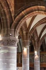 Colonnes Reinacker-100 (MMARCZYK) Tags: france architecture alsace glise gothique 67 voute basrhin xve gilge ludeman gilgeludeman