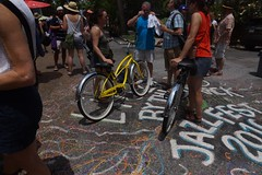 Bikes and Jazziest (spinadelic) Tags: new music festival orleans south april nola jazzfest nawlins stevespencer 2016