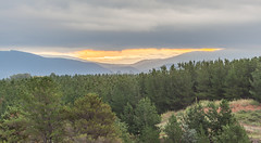 Sunset  View from Black Mountain, Canberra (russellstreet) Tags: sunset cloud sun australia canberra blackmountain australiancapitalterritory