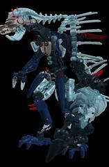 Takadox Hordika (---//?//---) Tags: lego bionicle moc ldd hordika barraki takadox