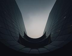 Striking distance (Panda1339) Tags: uk light sky london architecture cityhall lookup batman futuristic morelondonriverside
