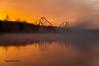 GA-Sunrise-1 (Scottmidb) Tags: morning trees lake reflection nature beautiful fog sunrise nikon greatadventure d3 prospertownlake