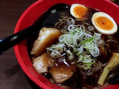 Ramen topped with a boiled egg from Iroha @ Akihabara (Fuyuhiko) Tags: from tokyo with egg ramen  akihabara boiled  topped   iroha