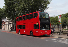 Blankety Blank - Route 188, Abellio London, 9450, LJ09CCZ (Jack Marian) Tags: bus london buses alexander dennis enviro northgreenwich russellsquare greewich 9450 e400 alexanderdennis route188 enviro400 alexanderdennisenviro400 lj09ccz abelliolondon