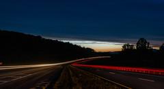 Night Road Before (Kostya Kartavenka) Tags: road light sky car night lights long exposure carlights