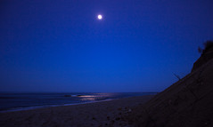 beach-6 (malenajax) Tags: sky moon beach water night sand waves capecod