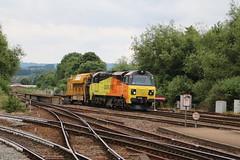 70809   Railvac   Exeter St David's (Western Railway Photography) Tags: colas rail freight class 70 70809 railvac devonport exeter riverside yard