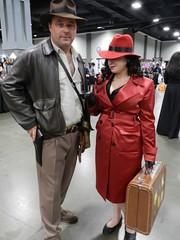 Indiana Jones and Carmen Sandiego (dcnerd) Tags: cosplay awesome comiccon con indianajones carmensandiego awesomecon comicconcosplay cosplaycomiccon cosplaycarmensandiego cosplaysexy cosplaywomen awesomeconwashingtondc awesomecondc awesomeconcosplay cosplayindianajones awesomecon2016