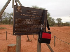 In the Geographical Centre of Australia, the Lambert Centre. (spelio) Tags: simpson trip 2016 may airpocket fb remote bag carryon luggage gear pole parliamenthouseflagpole