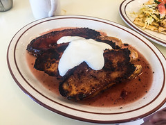 French Toast at La Copine - Yucca Valley, California (ChrisGoldNY) Tags: california food usa breakfast america restaurant yummy forsale comida meals delicious foodporn socal brunch albumcover plates bookcover dishes bookcovers californian albumcovers eater licensing yuccavalley inlandempire morongobasin sanbernadinocounty lacopine chrisgoldny chrisgoldberg chrisgoldphoto