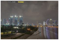 Night Scene @ Singapore Marina  Barrage (wsboon) Tags: city travel cruise light sky holiday color tourism water architecture clouds composition buildings relax corporate design photo google search nikon singapore asia exposure cityscape view nocturnal skyscrapers heart perspective visit tourist calm explore photograph land destination serene cbd nightscene pimp nocturne dri singapura centralbusinessdistrict blending singaporecityscape masteratwork uniquelysingapore singaporecity peopleculture d700 singaporecruise singaporelandscape 2401200mmf3556 singaporemarinabarrage singaporetouristattractions nocommentsimplyperfectsingaporeview singaporefamouslandmarks