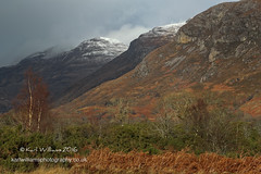 Slopes and Shadows (Shuggie!!) Tags: trees snow mountains landscape scotland highlands shadows williams cliffs hills karl bracken torridon afternoonlight westerross gorse karlwilliams