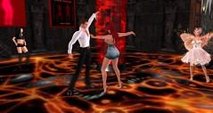 Avilion Grove - Club Drow (Osiris LeShelle) Tags: life music club out fun dance dj dancing grove character secondlife gathering second giles drow ooc avilion