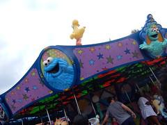 sesame street carousel (2) (pompomflipflop) Tags: sesameplace carousel sesamestreet