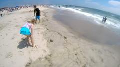 G0032142 (Tom Simpson) Tags: ocean beach maddie newjersey nj madeline jerseyshore boogieboard avonbythesea
