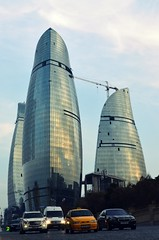 Flame Towers Baku (Samir Cabbarov) Tags: nikon d5100