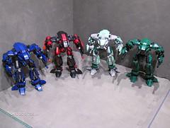 The four horseman-001 (Canis Arms Corporation) Tags: lego mech battletech moc battlemech