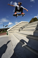 Jacob Turner - Ollie (Matt___Hunter) Tags: ocean park new wood city flowers wedding sea roses sky panorama music white mountain fish black colour tree nature animals festival clouds stairs zoo boat leaf pond stair skateboarding bright air scenic gap 8 rail coke victoria churchtower ollie tricks architect auckland zealand skatepark ranges ledge skate views skateboard vista skater cocacola colourful grind sculptures sk8 waitakere coyle noseblunt