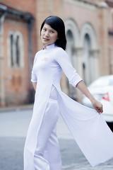 3AO-155 (panerai87) Tags: school white church model vietnam sally saigon aodai