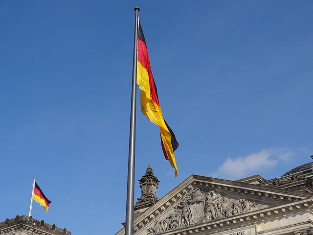 Drpeau allemand - German Flag, Reichstag, Berlin