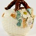 174. English Majolica Basket Vase