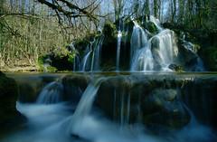 Cascade des Tuf  des  planches  près d'Arbois (francky25) Tags: des jura cascade planches tuf près comté franche nd64 darbois