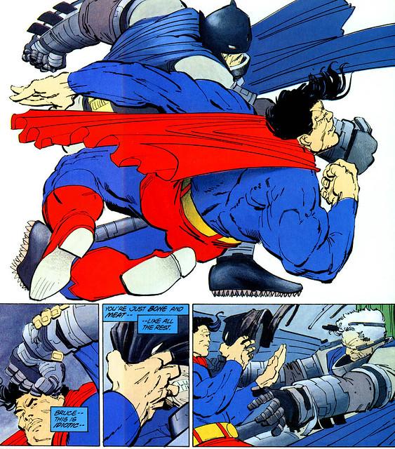 蝙蝠俠 The Dark Knight Returns: SUPERMAN VS. BATMAN 雕像