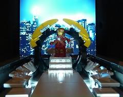 Iron Man : Arrival at Stark Tower (Legoagogo) Tags: england lego ironman avengers tonystark chichester moc afol legoagogo
