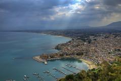 Castellammare del Golfo (Fil.ippo) Tags: light sea nature day mare gulf cloudy sigma natura acqua 1020 hdr filippo luce sicilia golfo waterscape castellammare d7000