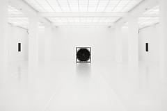 White room (John Andreas Olsson) Tags: light white black reflection berlin art geometric lines architecture square floor room fine smooth shades exhibition ceiling pale clean installation sound ambient hexagon highkey hamburgerbahnhof waxed ryojiikeda