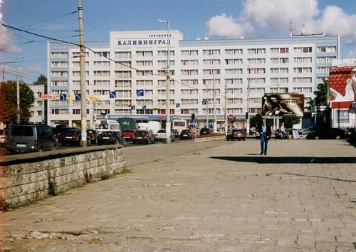 гостиница  калининград. Gasthof Kaliningrad,  Kaliningrad, Russia. Sept 2003 ©  sludgegulper