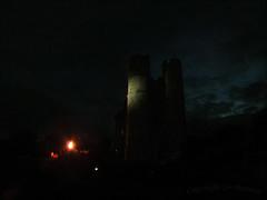 The Beacon at Donnington Castle (jo92photos) Tags: lighting uk england castle night flames ceremony donnington burning berkshire beacon newbury diamondjubilee westberkshire gettyjubileemon