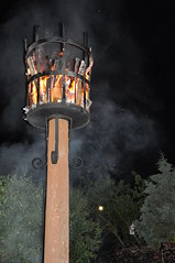 The Beacon and the full moon light (Rudi Pack Photography) Tags: light party people wet night lite fire countryside day locals village henry celebrations unionjack beacon streetparty magicshow feex dutonhill b777f queensdiamondjubilee