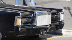 1970/71 Lincoln Continental (RS 1990) Tags: black sports car very continental lincoln adelaide 1972 southaustralia rare b52 grotest june2012