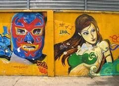 los novios (Sangroncito) Tags: streetart mexico mask oaxaca mascara artecallejero oaxwalk