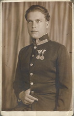 1918, Henrik. Explored #37 (elinor04) Tags: family man vintage silver soldier photo uniform cross young medal painter karl ww1 1910s officer sculptor henrik troop bravery 1918 explored spttle